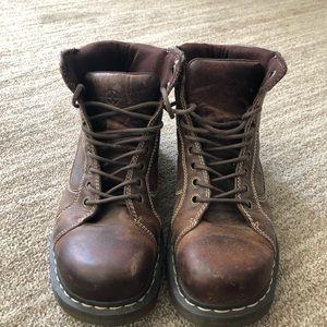 Men's doc martens -brown